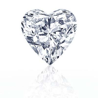 DIAMOND EGL CERTIFIED HEART 2.02 CTW G, SI2
