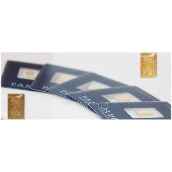 Suisse 1 gram Fine Gold (999.9)(5)pec.