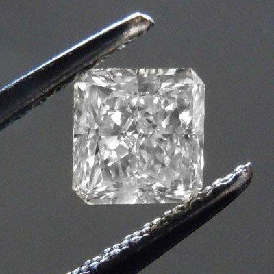 Diamond GIA Cert. Square 1.10 ctw D, VS2