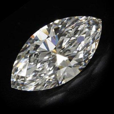 Diamond EGL Certified Marquisse 1.14 ctw F, SI2