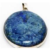 Natural 16973 ctw Semi Precious 925 Sterling Pendant