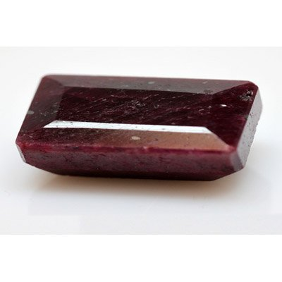 Natural 179.50 ctw African Ruby Emeralcut