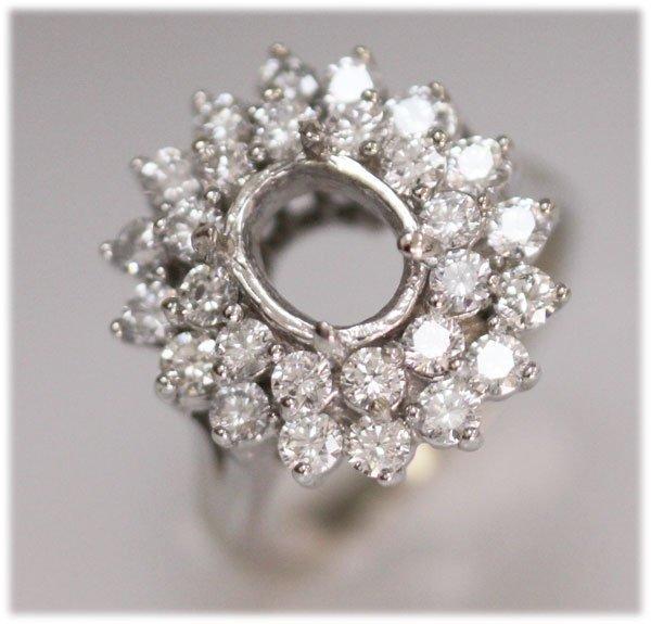 GENUINE 1.50 CTW 14K DIAMOND GOLD RING
