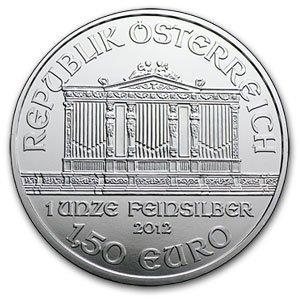Austrian Philharmonic Silver One Ounce 2012