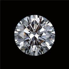 Diamond EGL Certified Round 1.17 Ctw D, SI2