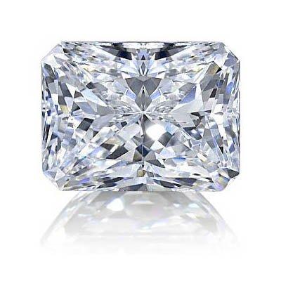 Diamond EGL Certified Radiant 0.50 ctw F,VS2
