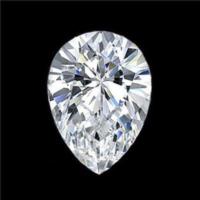 Diamond EGL Cert. Pear 4.01 ctw G, Si2