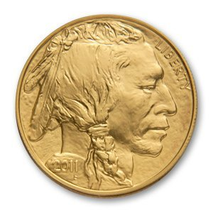 Uncirculated Gold Buffalo Coin One Ounce 2011