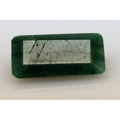 Natural 8.20 ctw African Emerald Emerald Cut