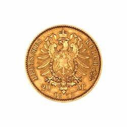 German 20 Mark Gold Coin