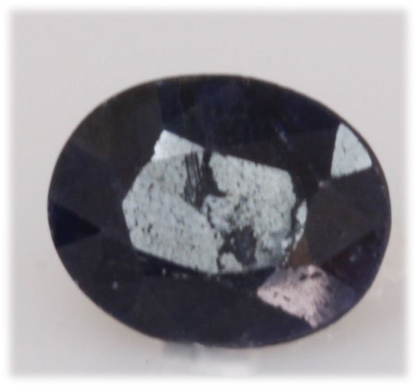 NATURAL 7.92 AFRICAN SAPPHIRE OVAL