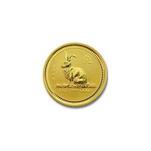 Australian Lunar Gold Twentieth Ounce Gold 1999 Rabbit