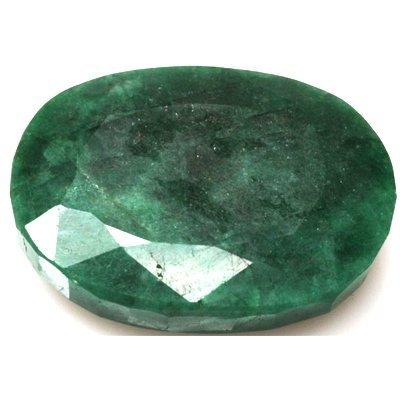 African Emerald Loose Gems 195.11ctw Oval Cut