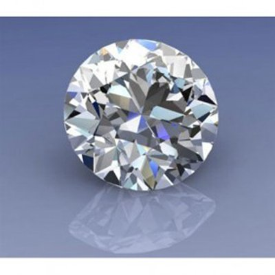 EGL Certified 0.91ct Round Brilliant H, SI1