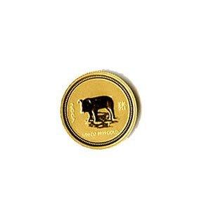 Australian Lunar Gold Twentieth Ounce Gold 2007 Pig