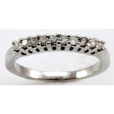 Genuine 0.32 ctw Diamond Ring 14k W/Y Gold