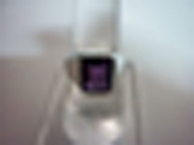 NATURAL 27.50 CTW AMETHYST RING .925 STERLING SILVER