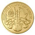 Austrian One Ounce Philharmonic Gold Coin Dates of our