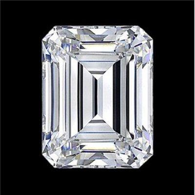 GIA Certified Emerald Cut Diamond 1.02 ctw E VVS1