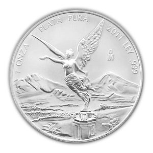 Mexican Silver Libertad 1 Ounce 2011