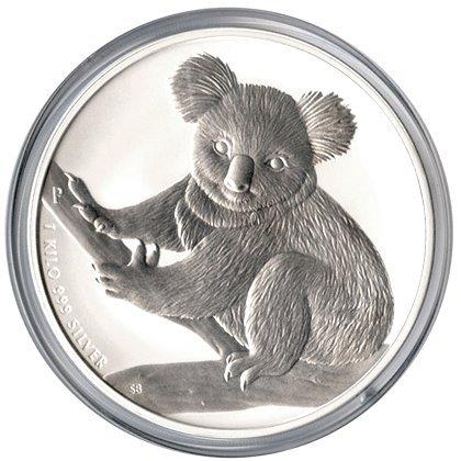 Australian Koala Kilo Silver 2009