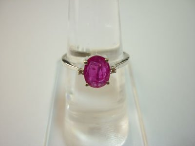 NATURAL 10.00 CTW RUBY RING .925 STERLING SILVER