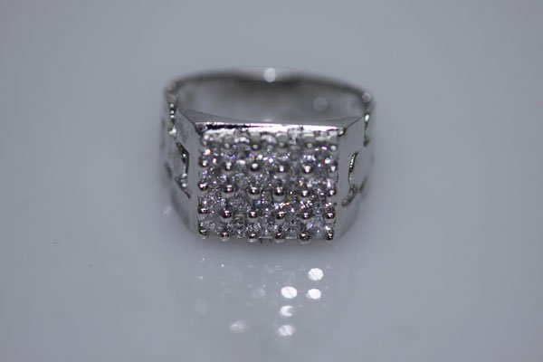 25 CTW CZ RING .925 STERLING SILVER