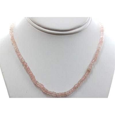Rose Quartz 81.98 ctw Necklace