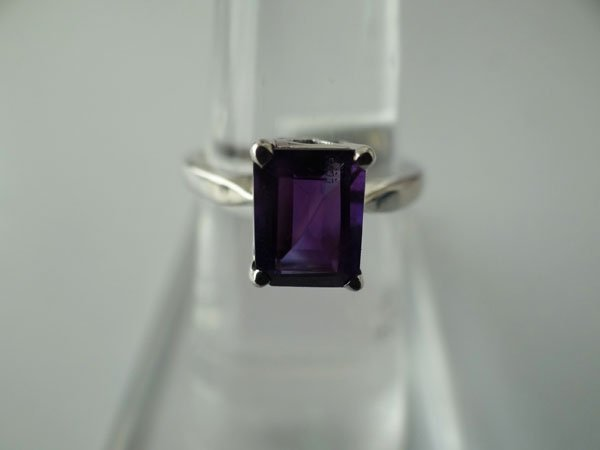 13.25 CTW AMETHYST RING .925 STERLING SILVER