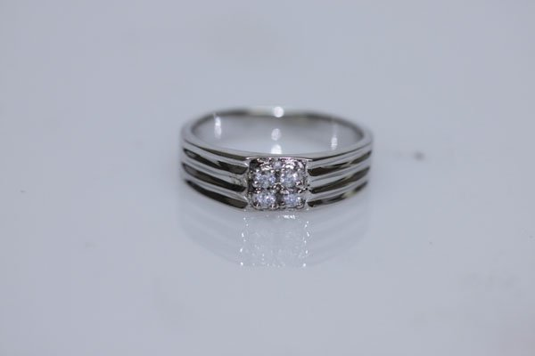 16.20 CZ RING .925 STERLING SILVER