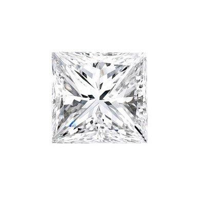 Genuine Princess Cut 0.50ctw Loose Diamond G to H, SI2