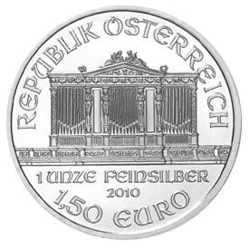 Austrian Philharmonic Silver One Ounce 2010