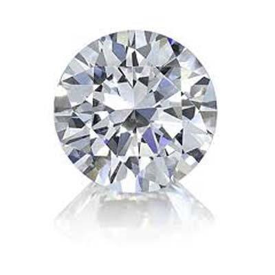 GIA 0.32 CTW ROUND DIAMOND D,SI1