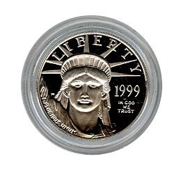 Platinum American Eagle Proof Half Ounce Capsule Only (