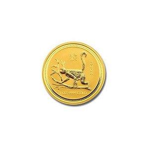 Australian Lunar Gold Twentieth Ounce Gold 2004 Monkey
