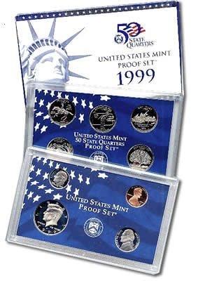 US Proof Set 1999