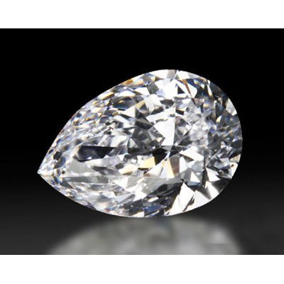 Diamond GIA Cert. Pear 0.96 ctw D, SI2