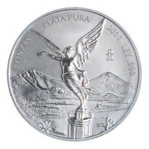Mexican Silver Libertad 2 Ounce 2011