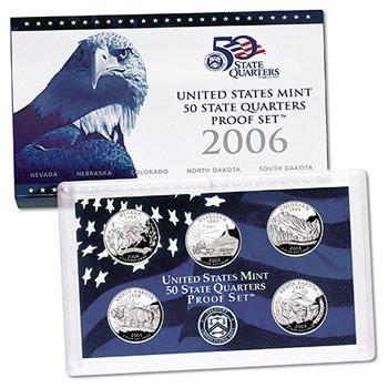 US Proof Set 2006 5pc (Quarters Only)