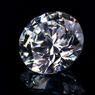 Diamond GIA Cert. Round 0.50 ctw D, VVS1