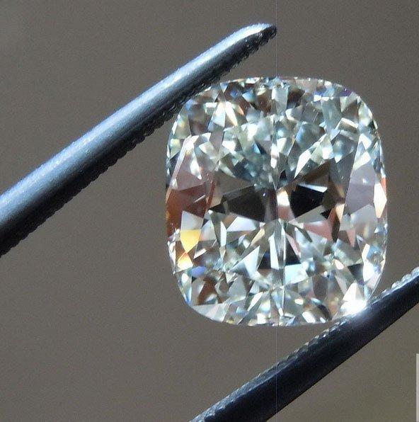 EGL CERT. 1.20 CTW CUSHION DIAMOND G/VS2
