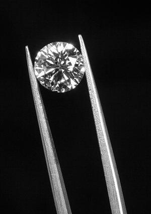 0.3 CTW GIA CERT. DIAMOND ROUND G/VVS1