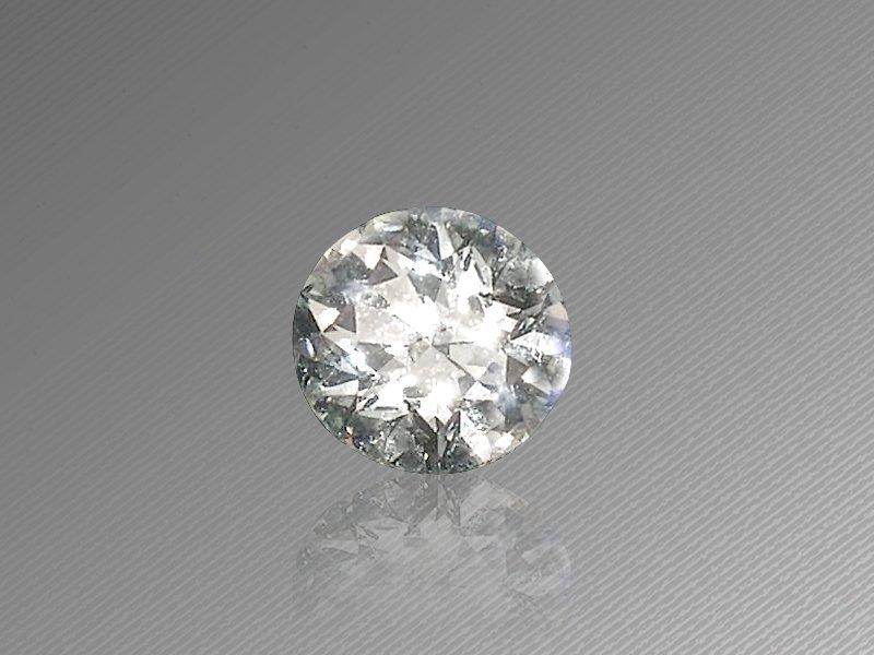 CERT. 1.01 CTW ROUND BRILLIANT DIAMOND G/VS1