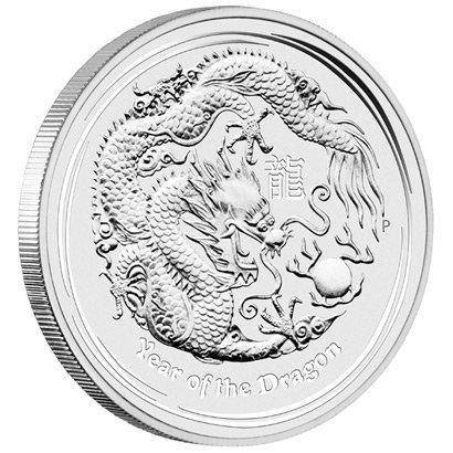Australian Lunar Silver 1 Kilo Silver Series II 2012 Dr