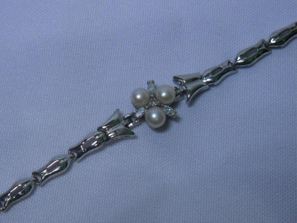 CHAMPAGNE PEARL BRACELET; AUTHENTIC PHILIPPINE PEARL;