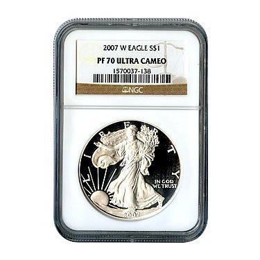 Certified Proof Silver Eagle PF70 2007