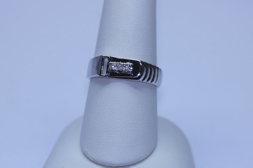 14.90 CTW CZ RING .925 STERLING SILVER