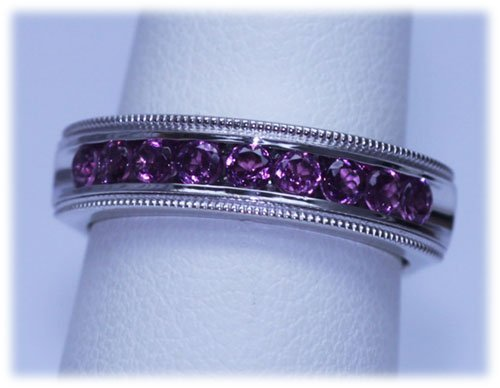 21.55 CTW PINKTOURMALINE RING .925 STERLING SILVER