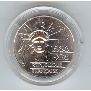 France 100 Francs 1986, LIberty Piefort