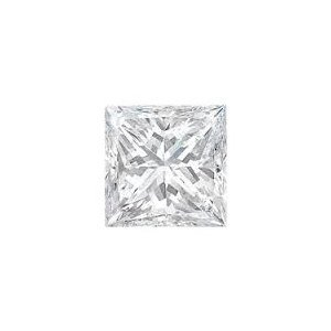 EGL CERT 1.50 CTW PRINCESS CUT DIAMOND F/SI2